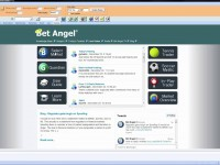 Using Bet Angel – The Bet Angel desktop