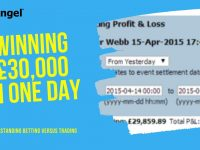 Betting strategy that won £30,000 in one day and why it's very different from Betfair trading