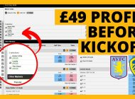 Aston Villa v Leeds £49 Profit Before Kickoff | Football Trading on Betfair